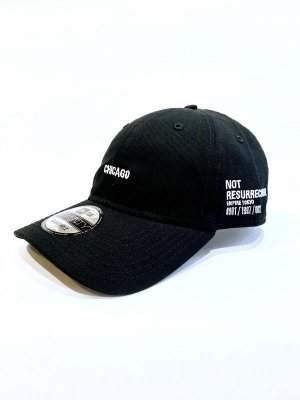 "画像1: EMPIRE Co.,Ltd Merch ""Your House"" 2Point Cap CHICAGO (Black : NEW ERA) [6,450+税]"