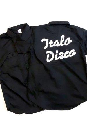 """画像1: EMPIRE Co.,Ltd Merch """"Your House"""" Italo Disco Work Shirt (Black) [7,800+税]"""