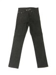 "画像1: A BLACK MIDDLE EYE ""No Sign"" Denim (BLACK) (1)"