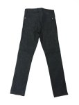 "画像2: A BLACK MIDDLE EYE ""No Sign"" Denim (BLACK) (2)"