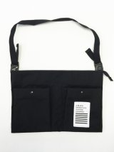 "A BLACK MIDDLE EYE ""SACOCHE & APRON"" (Black) [定価¥8,800]  →SALE→"