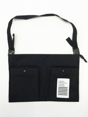 "画像1: A BLACK MIDDLE EYE ""SACOCHE & APRON"" (Black) [8,000+税]"
