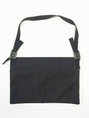 "画像3: A BLACK MIDDLE EYE ""SACOCHE & APRON"" (Black) [8,000+税]"