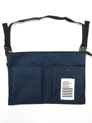 "画像1: A BLACK MIDDLE EYE ""SACOCHE & APRON"" (Navy)"