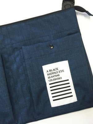 "画像4: A BLACK MIDDLE EYE ""SACOCHE & APRON"" (Navy)"
