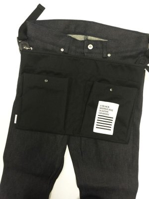 "画像2: A BLACK MIDDLE EYE ""SACOCHE & APRON"" (Black) [定価¥8,800]  →SALE→"